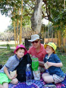 Family trip to Vientiane, Laos