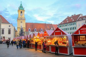 The Best Markets To Visit At Christmas In Europe - Bratislava, Slovakia