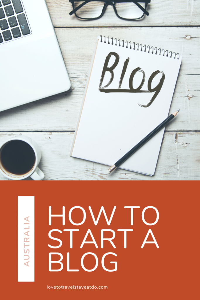 How to start a blog Australia - resources and courses.